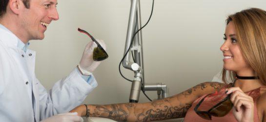 Tattooentfernung bei Dermacare