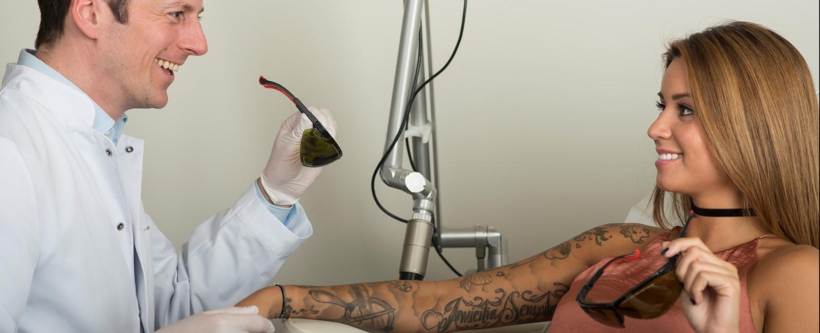 Tattooentfernung Wien mit Laser - Tattoo Nachbehandlung