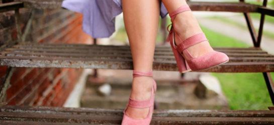 Schlanke Beine dank Lymphdrainage